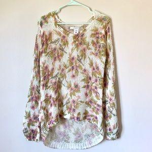Lc Lauren Conrad Disney Snow White floral knit